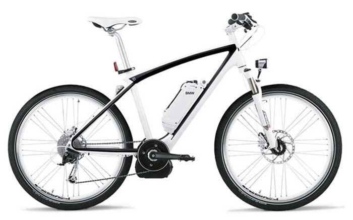 Мощные велосипеды от BMW