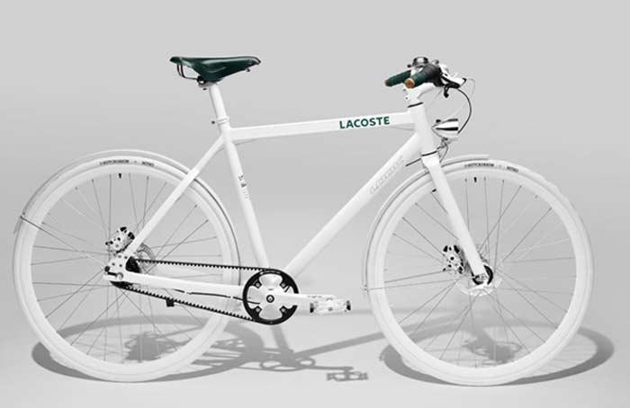 Минималистичный велосипед Lacoste