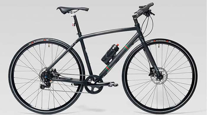 Модный велосипед от Gucci