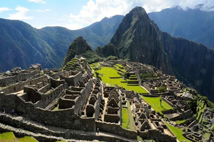 Историческое святилище Мачу-Пикчу. Перу