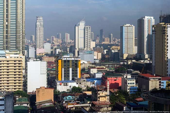 Самые большие города. Манила
