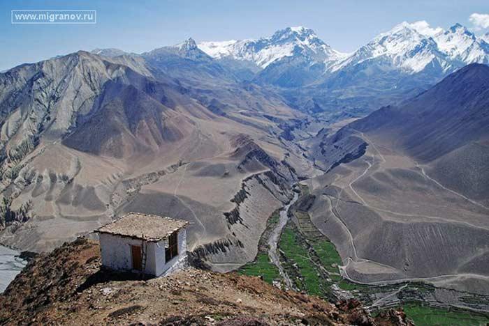 Ущелье Кали Гендеки. Непал