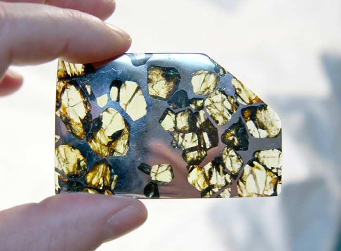 Метеорит палласит