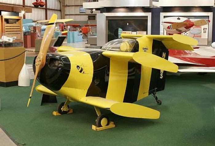 Самые маленькие самолеты. Самолет «Бамбл Би», или «Шершень»