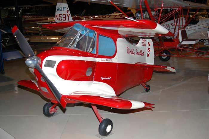 Самые маленькие самолеты. Самолет «Скай Бэби»