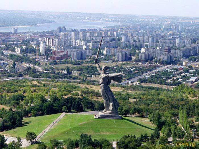 Самые большие города России. Волгоград
