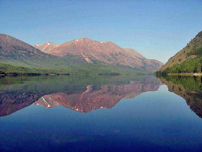 Самые глубокие озера. Озеро Байкал