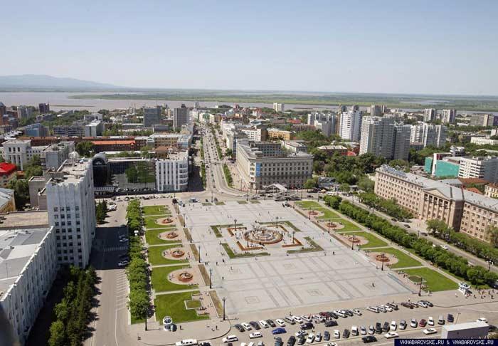 Самые большие площади России. Площадь Ленина