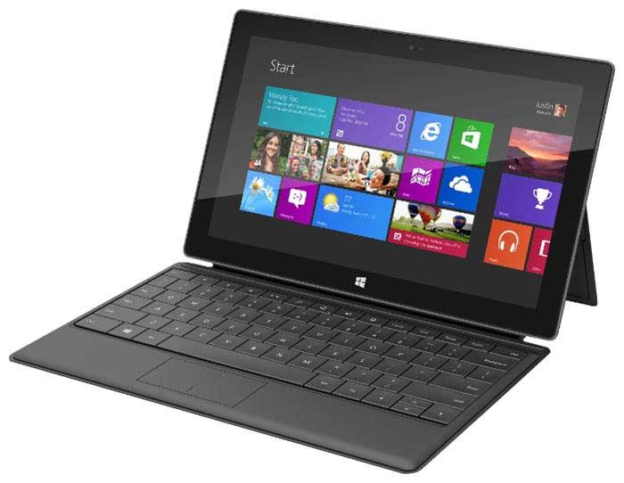 Провальные стартапы. Планшет Surface от Microsoft