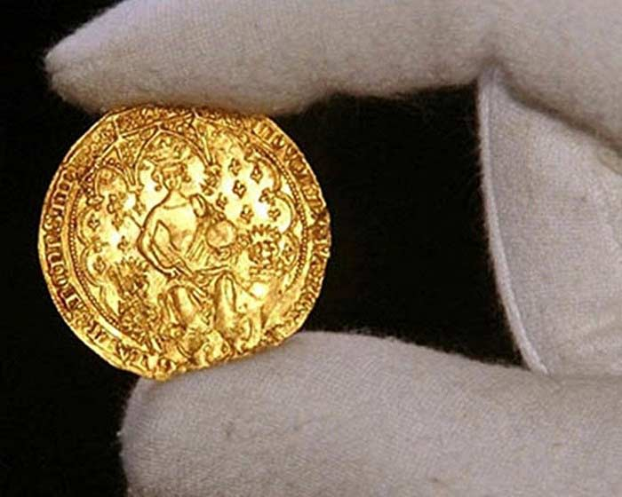 Монета «Эдвард III» 1343 г