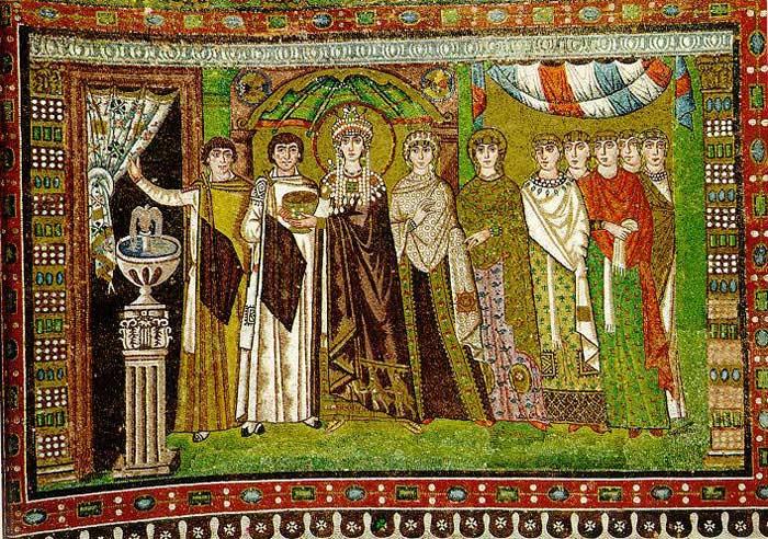 Театральные представления в Византии