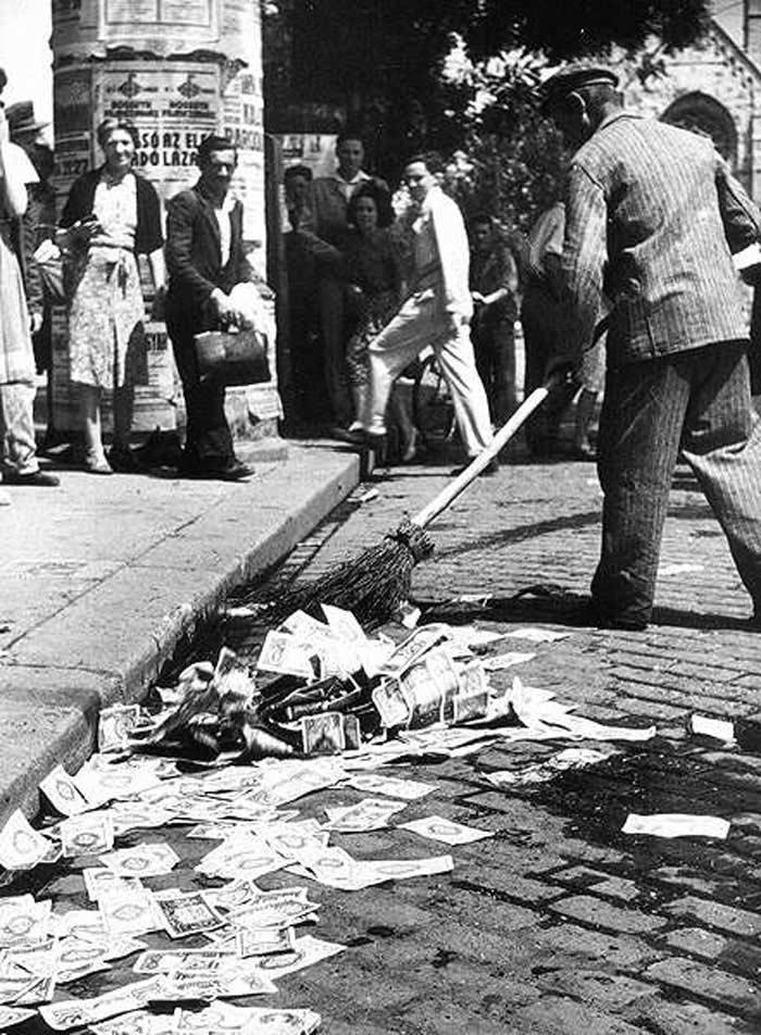 Инфляция в Венгрии (1945-1946 гг.)