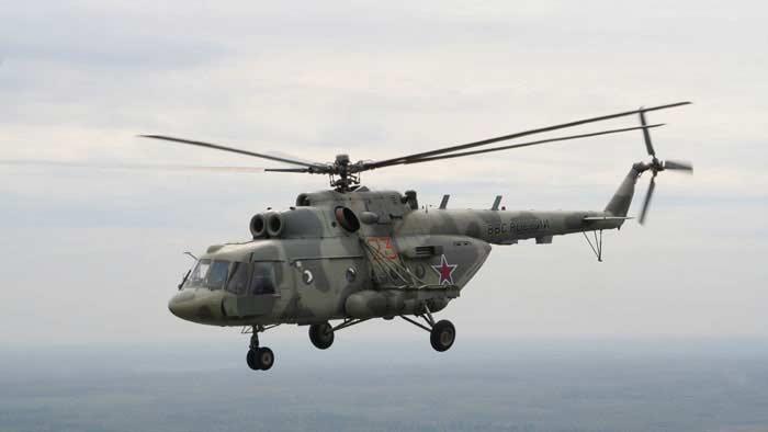 Вертолет  Ми – 8