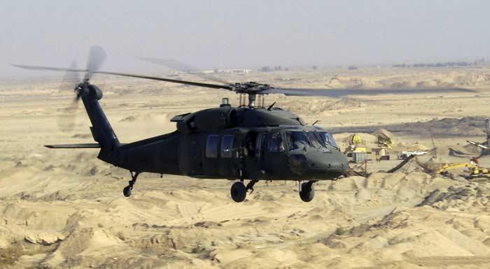 Вертолет  Sikorsky S70/UH-60