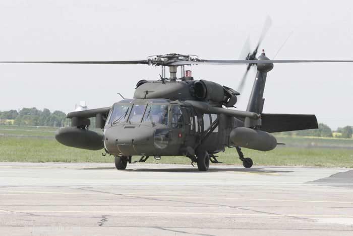 Вертолет  Sikorsky UH60/ «Black Hawk»