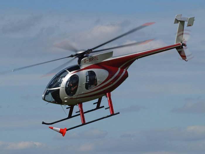 Вертолет  Hughes 500