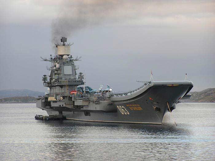 «Адмирал Кузнецов» (тяжёлый авианесущий крейсер)