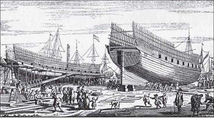Указ «О величине трудового дня, штрафах и наказаниях для адмиралтейских рабочих» (1708 г.)