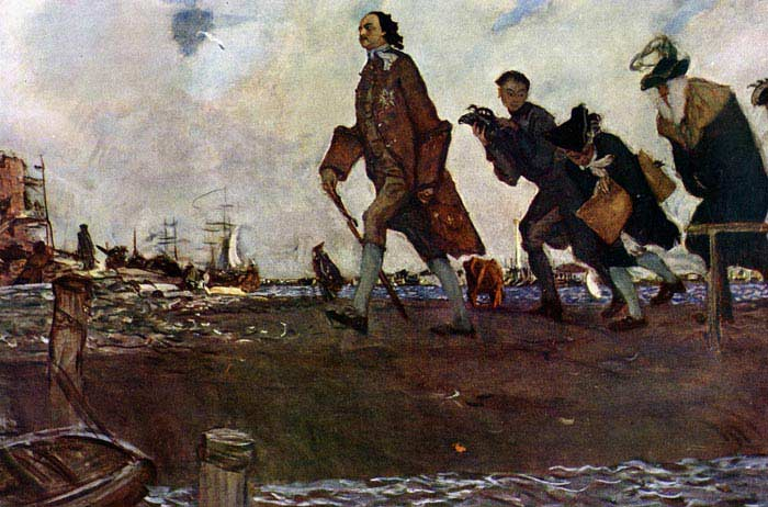 Указ «О создании регулярного флота» (1696 г.)