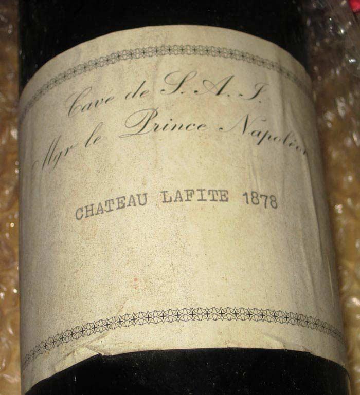 Вино Chateau Lafite (цена - $111600)