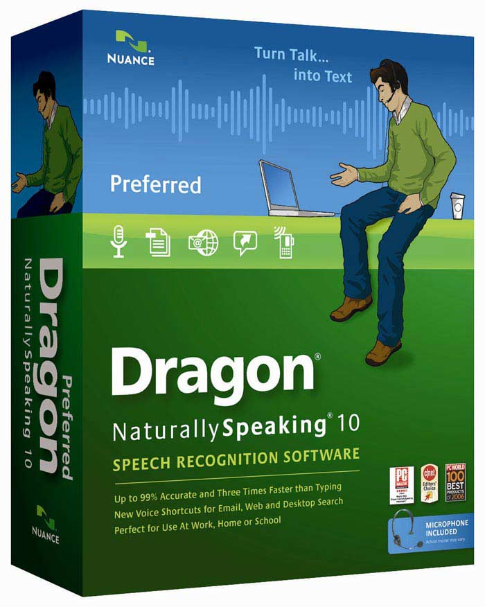 Распознавание речи: Dragon Naturally Speaking