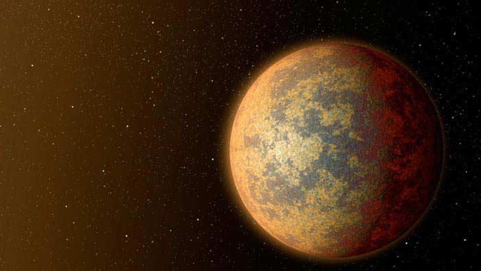 Планета, очень похожая на Землю