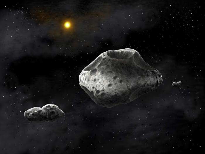 Астероид Сильвия