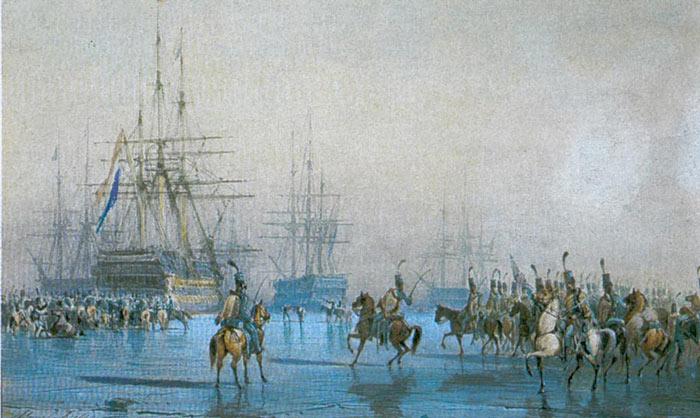 Захват голландского флота в Ден-Хелдере (1795)