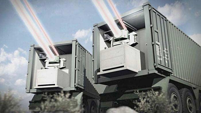 Лазер Rafael Advanced Defense Systems