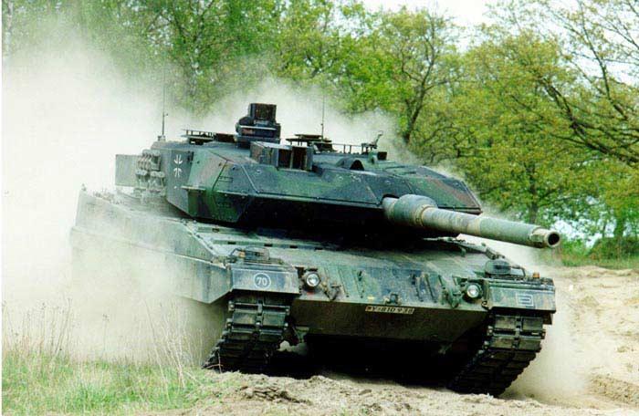 Танк Леопард-2 (Германия)