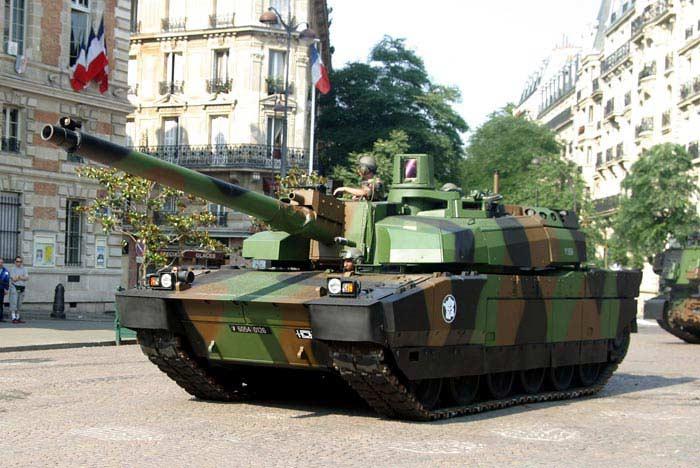 Танк АМХ-56 «Леклерк» (Франция)