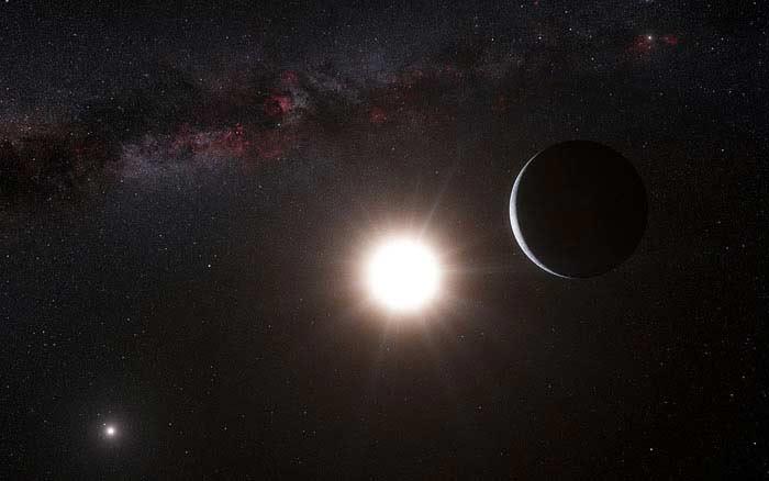 Отсутствие планеты Альфа Центавры B b