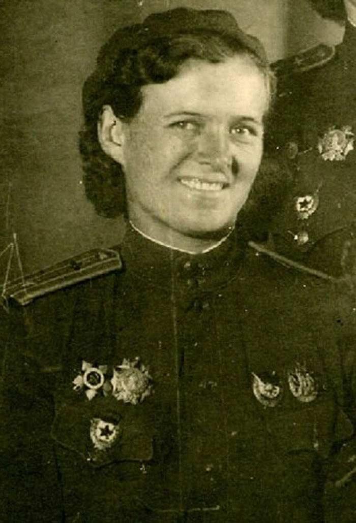 Бершанская ( Бочарова ) Евдокия Давыдовна