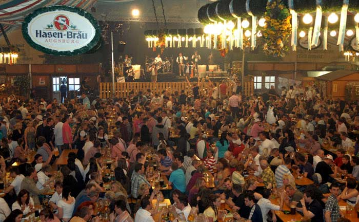 Фестиваль в Аугсбурге. Аугсбург, Германия