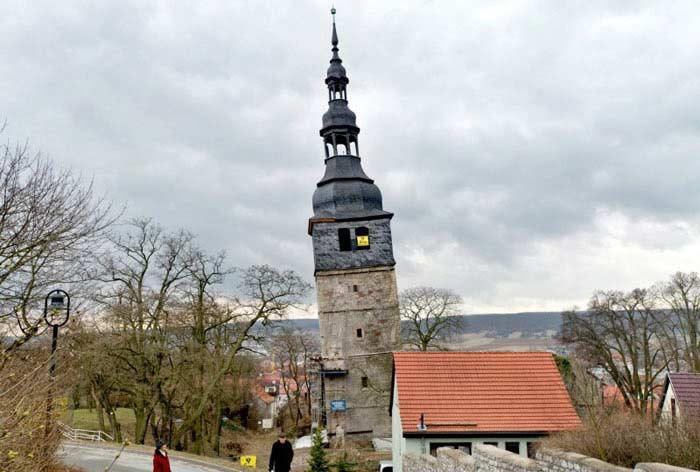 Башня церкви Франкенхаузен, Германия