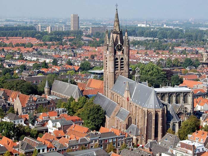 Церковь Аудекерк, Нидерланды