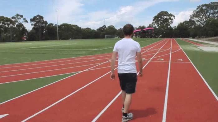 Дрон для спортивных тренировок