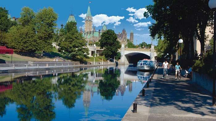 Оттава, город и река (Канада)