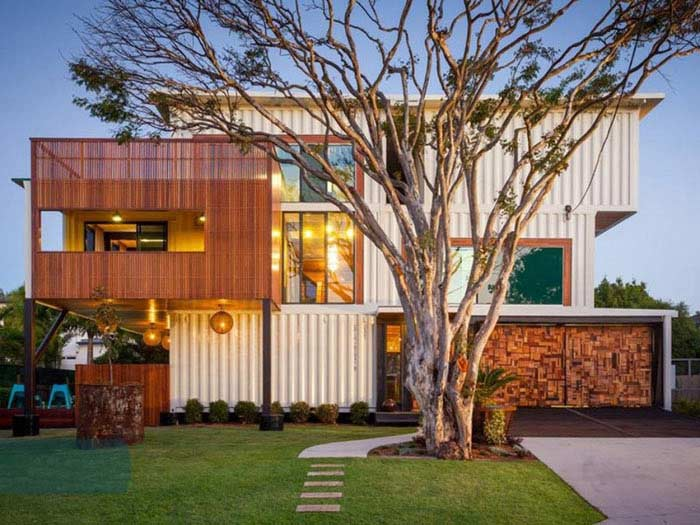 Jaora Street Shipping Container Home