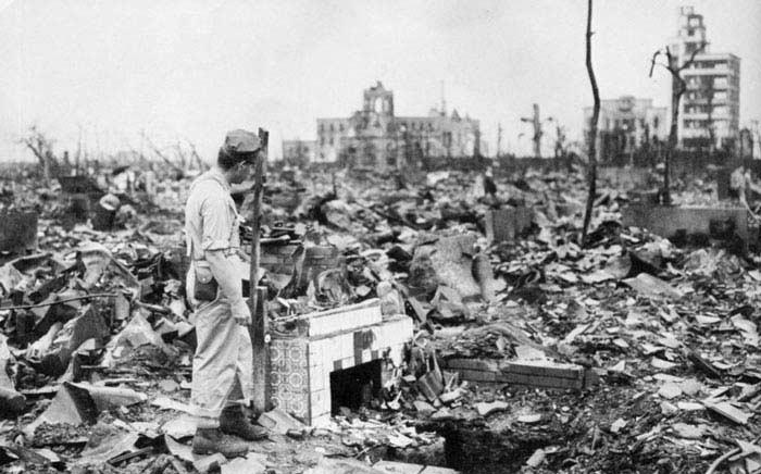 Хиросима, 6 августа 1945 года. Нагасаки, 9 августа 1945 года
