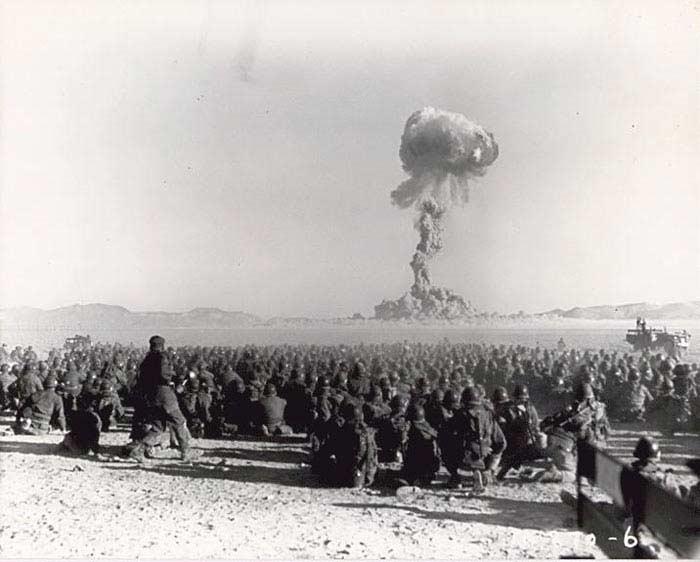 Невада, 27 января 1951 года