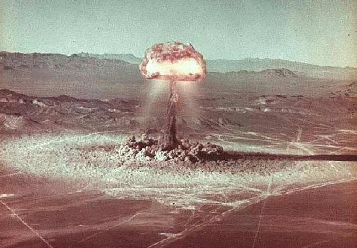 Невада, 22 октября 1951 года