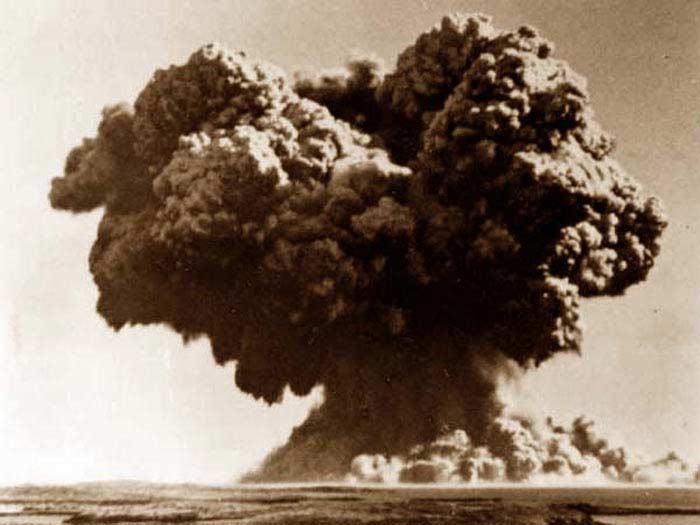 Острова Монтебелло, 3 октября 1952 года