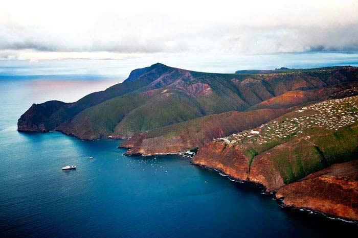 Фераньо Лопес, остров Святой Елены