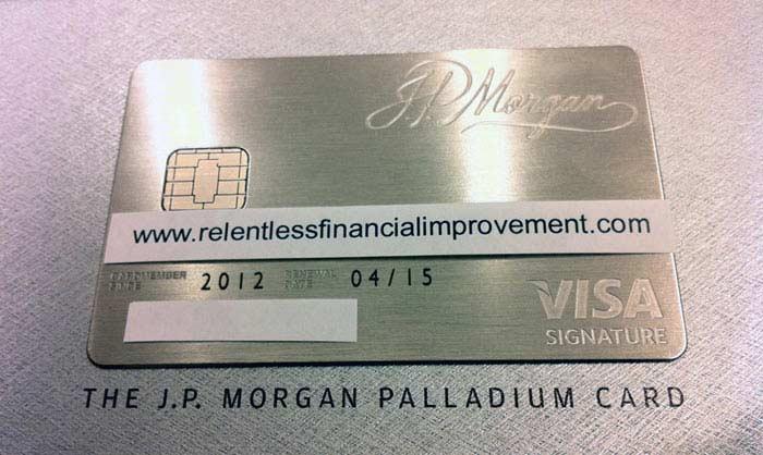 J.P. Morgan Palladium Card