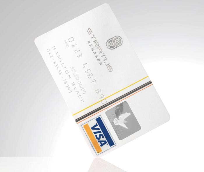 Stratus Rewards Visa
