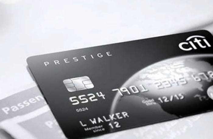 Citigroup Black Cairman Card