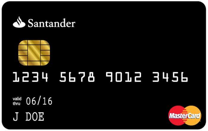 Black Brazilian MasterCard