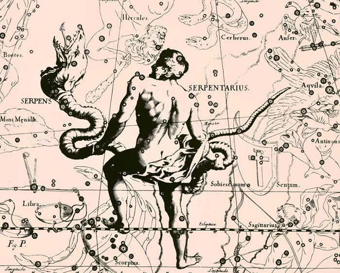 Новый знак зодиака Змееносец
