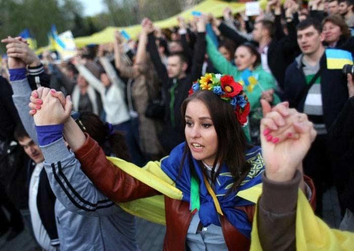 Украина люди